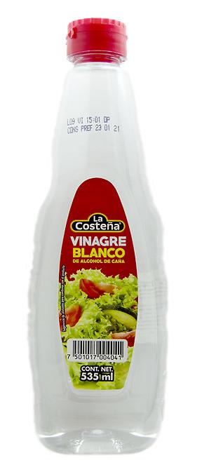 Vinagre Blanco de Alcohol de Caña-Costeña