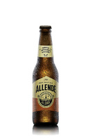 Allende IPA (Indian Pale). Cerveza artesanal mexicana.