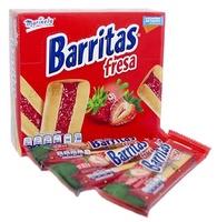 Barritas Rellenas Fresa Marinela