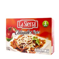 "Chilaquiles rojos """"La Sierra"""""