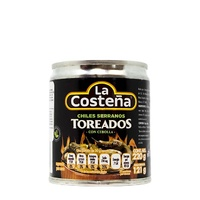 "Chiles serranos toreados 220gr ""La Costeña"""