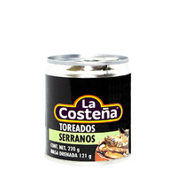"Chiles serranos toreados  """"La Costeña"""""