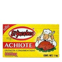 Condimento de Achiote 1kg Yucateco