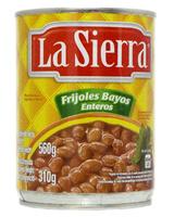 Frijol bayo entero lata La Sierra