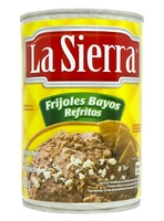 "Frijol bayo refrito lata ""La Sierra"""