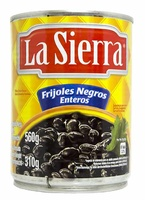 Frijol negro entero 560g La Sierra