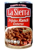 Frijol ranchero entero La Sierra