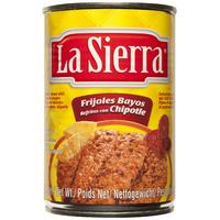 Frijol refrito con chipotle, La Sierra