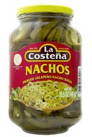 """Jalapeños nachos 440g """"La Costeña"""""""