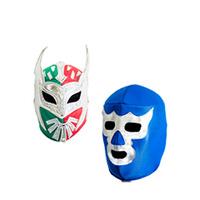Máscara luchador (Tela o Acrílica)
