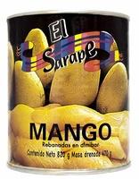 """Mango en almibar (rebanadas) """"El Sarape"""""""
