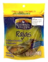 Rajas de chiles jalapeños, Clemente Jacques