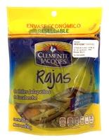 Rajas verdes de jalapeño en bolsa Clemente Jacques