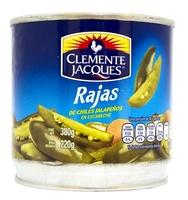 Rajas verdes de jalapeños Clemente Jacques