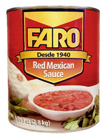 """Salsa Mexicana Roja 2,8 kg  """"Faro"""""""
