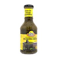 Salsa de chiles Jalapeños de Doña Chole marca San Miguel