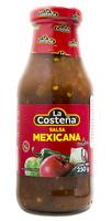 """Salsa mexicana casera 250g cristal """"La Costeña"""""""