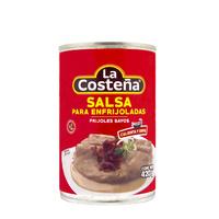 """Salsa para enfrijoladas Frijol Bayo """"La Costeña"""""""