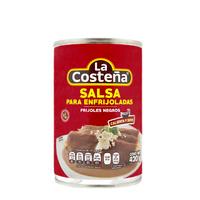 "Salsa para enfrijoladas Frijol Negro """"La Costeña"""""