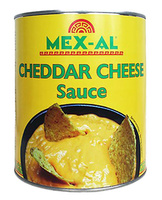 Salsa queso cheddar 3kg Mex-Al