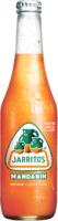 Tangerine sparkling soda